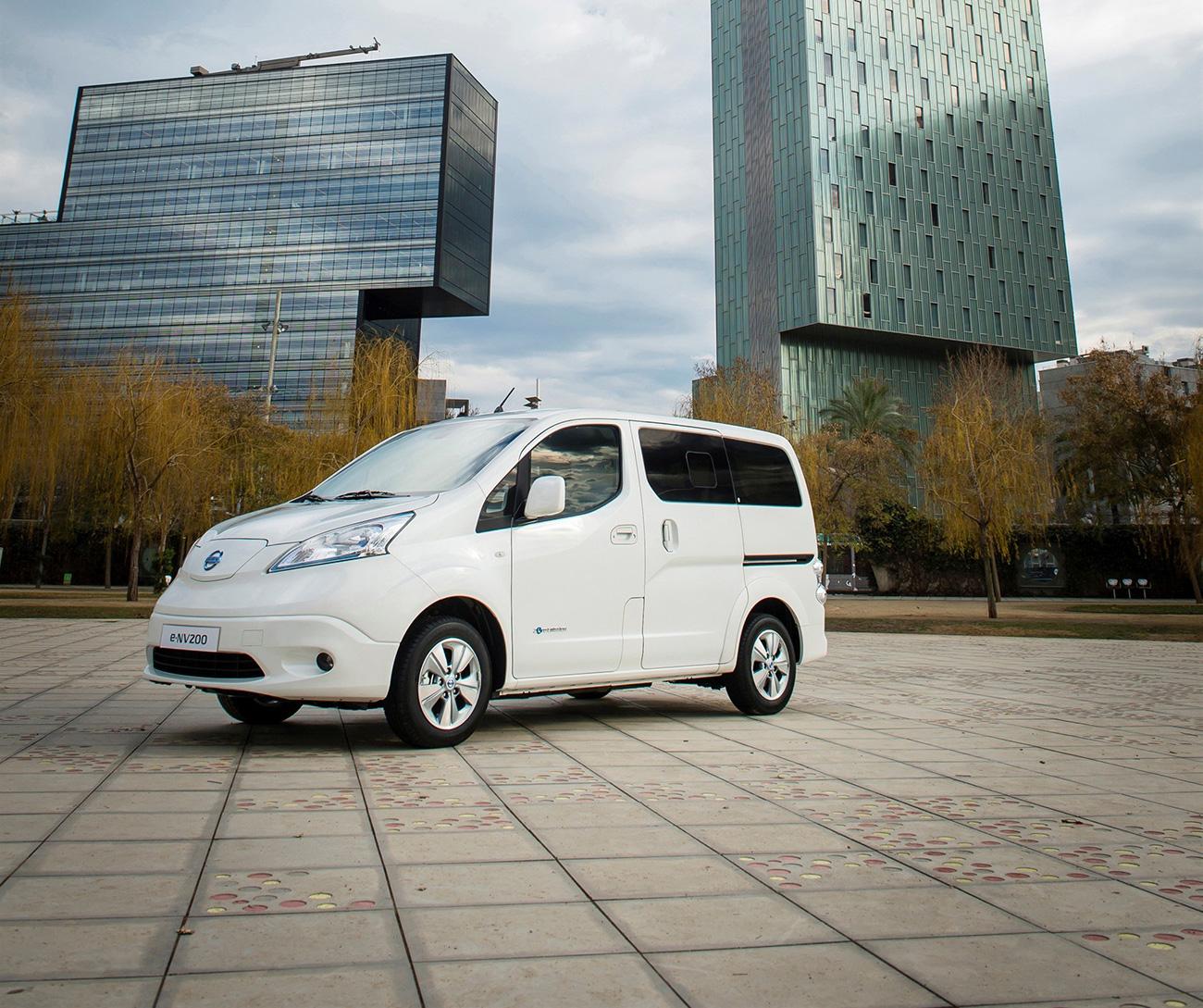 2017 Nissan Nv200 Suspension: Autonomie Accrue Pour Le Nissan E-NV200