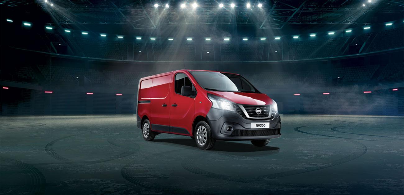 Votre utilitaire Nissan NV300 à 142€HT/mois