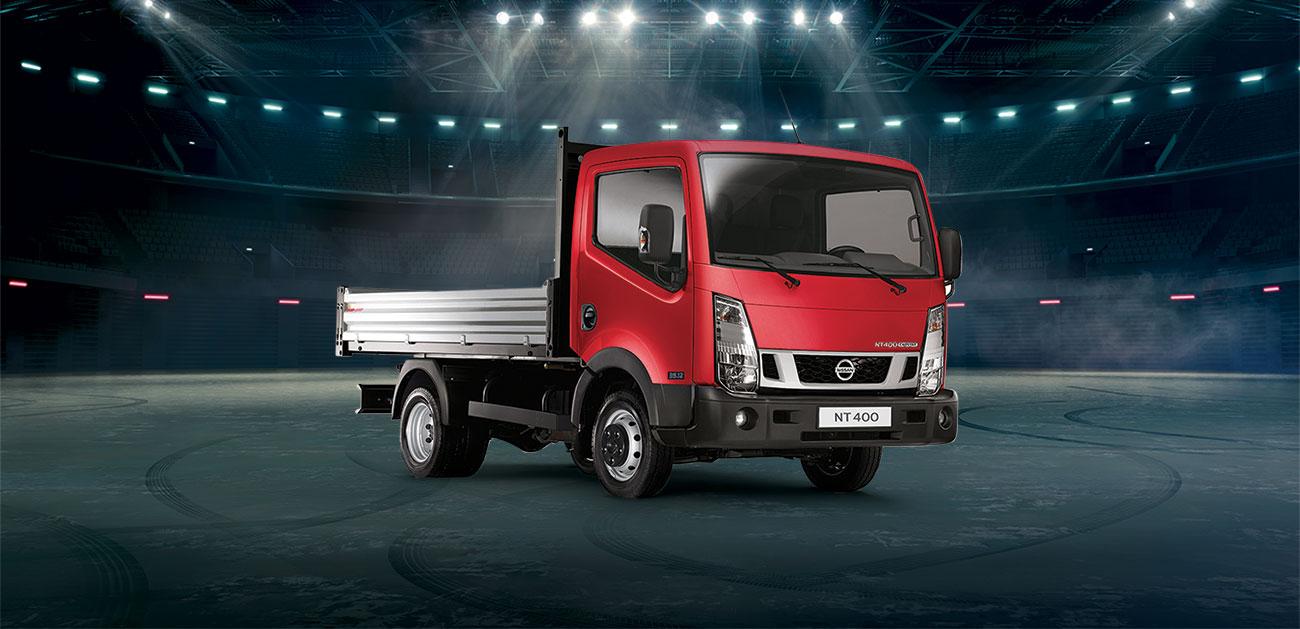 Nissan NT400, votre camion benne en crédit bail à 359€ HT/mois sans apport