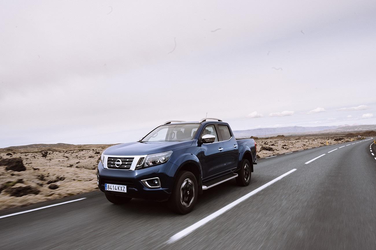 Le nouveau pick-up Nissan NAVARA est commercialisé