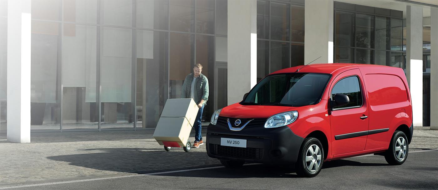 Votre Nissan NV250 disponible à 199€HT/mois sans condition de reprise