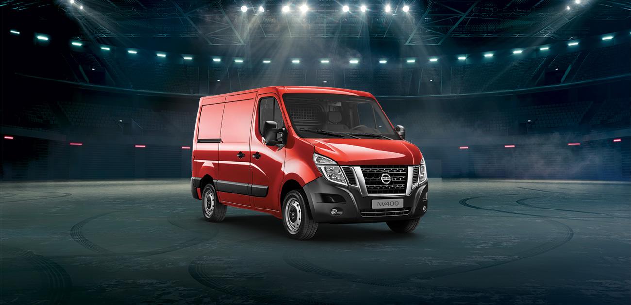 Votre Nissan NV400 disponible à 279€HT/mois